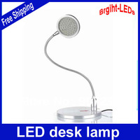 50 LEDs Flexible neckdesk lamp touch wcitch Sleek, high-tech design full metal 300LM