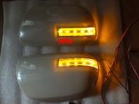 LED rear-view mirror lights+cover ; LED turn signals light +DRL case for Toyota HIGHLANDER, VANGUARD, ESTIMA,VOXY, ALPHARD, NOAH