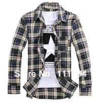 men clothing base New 2014 casual shirt,slim fit for mens dress shirts,long sleeve men shirt,M/L/XL/XXL