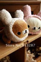 Free Shipping Kawaii Plush Rabbit Headband Rilakkuma Pencil Bag,Storage Bag Xmas Gift Retail