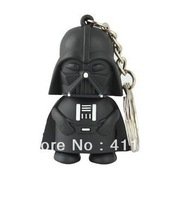Cartoon Star Wars Darth Vader keychain USB flash disk, 3D Star Wars Darth Vader USB flash drive