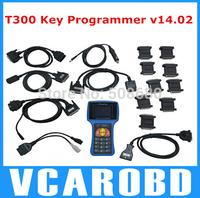 Newest Version 2014 V14.02 T300 Key Programmer Auto Transponder Key T code high quality Professional T 300 key prog In stock