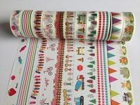 1392! new patterns china wholesale tape rice paper DIY dotfurniture  manufacturer  waterproof  40pcs/lot Free shipping