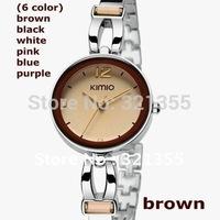 Eyki Kimio Brand Watch Women Ladies Luxury Bracelet Watches Dress Stainless Steel Quartz Watches
