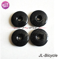 Brand CarbonFiber Top Cap Bicycle Headset Top Cap Stem Cover Bicycle Parts 6g With Screw ,Bike parts
