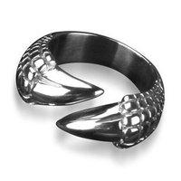 Bahamut Dragon Tail  Dragon Talon Dragon Claw Ring Pendant Titanium Steel Ring Free Shipping Wholesale Men's Jewelry