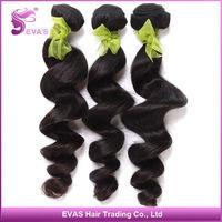 Brazilian Virgin Hair Loose Wave Unprocessed Color Hair EVAS Hair 100% Unprocessed Virgin Brazilian Hair Weave Bundles 3Pcs Lot