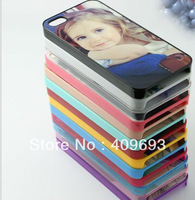 PC DIY sublimation case for 5G for iphone 5 PC case with  aluminium metal sheet with glue 100pcs/lot