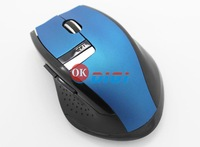 Factroy wholsale Human engineering design of non symmetry Sustainable use Precise positioning Wireless Mouse