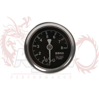 KYLIN STORE - SARD Fuel Pressure Regulator Gauge Black color
