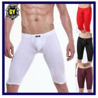 Free shipping!!Men's Underwear /Sleep wear / men's Long Johns /fashion transparent men underwear  (N-425)