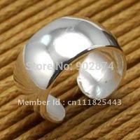 2pcs Ear Stud cool Ear Cuff 925 Sterling Silve Ear Clips Globoidal Cartilage Wraps Clip Non-pierced Earrings fashion jewelry 9#