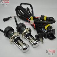 2pcs Bi-xenon H4 HID 35W 12V 3000K 4300K 5000K 6000K 8000K 10000K H4-3 Hi Lo H4 Bi xenon H4 bixenon lights headlight lamps bulbs