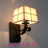 Factory direct new modern minimalist wall lamp Tiffany bedside opal glass lamp aisle creative fashion Lighting