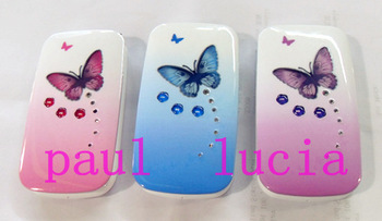 Russian Keyboard! W888 Butterfly Music Light Lady Phone Dual Sim Girl Phone Free Shipping