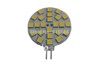 25Pcs/Lot SMD 5050 24PCS LED 12V LED Spot Light G4 Bulb Lamp Cold white / Warm White 120 Degree Free Shipping