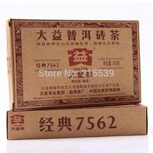 [GRANDNESS] 7562 Yunnan Menghai TAETEA Dayi Premium Puer Pu Er Pu Erh Pu'er Tea Brick 2011 yr 250g Ripe Shu Cha