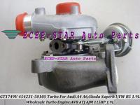 NEW GT1749V VNT 454231-5010S 454231-0006 454231 Turbocharger For Audi A4 A6;Skoda Superb I;Volkswagen B5 AVB ATJ AJM 115HP 1.9L