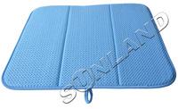 "2PCS Highest quality  16x18"" Absorbing Drying Mat For Kitchen Dish Microfiber Cushion Pad 144g"
