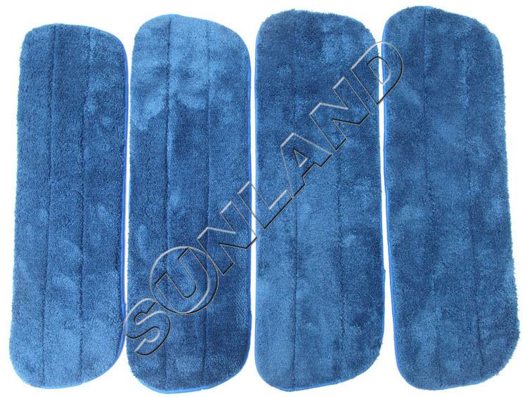 Microfiber Mop Cover Plush Microfiber Mop Pads