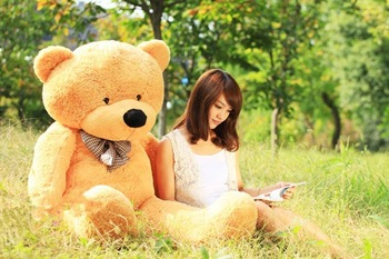 Hot sale Factory price empty  without the filler 4colors empty  Teddy bear plush toys coat 80CM, Birthdaygifts  Hot