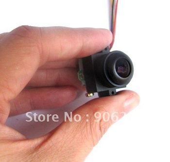 Free Shipping!!170 degrees wide mini micro camera audio 0.008lux night vision,520tvl HD,24X18X25mm,5v