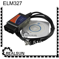 FOB Price cheap price usb elm327 OBD code reader ELM 327 ELM 327 USB Scan Tool