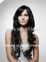 Custom Color 100% Human Hair Long Big Curly Wig---Free Shipping