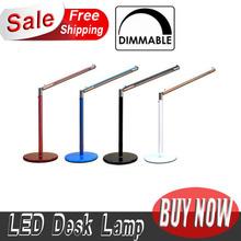 Hight Quality Bright-LEDs New 24 LED Desk Lamp Table Lighting Toughened Glass Base USB/AC 110V-220V Power(China (Mainland))