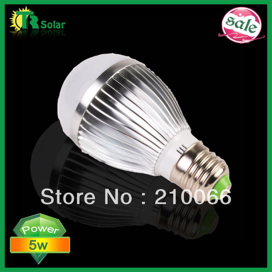 led bubls 5w High Power LED Bulb bubble Lamp, LED Energy Saving Light ball Bulb 10pcs/lot Free Shipping New type E27(China (Mainland))