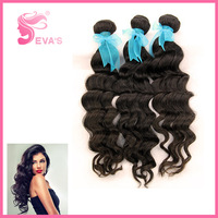 Wholesale Price 300grams/lots From 12 inch to 28 inch can be dyed and bleached Virgin Deep Wave Peruvian Hair