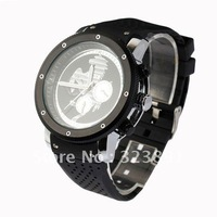 free shipping whole sale Degage Horse pattern week date function Automatic Mechanical Rubber 6 Hands Men Watch