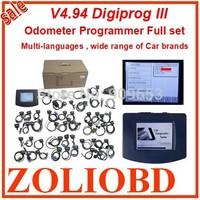 DHL Free digiprog 3 v4.94 odometer correction Top Digiprog III Odometer Programmer Full cable V4.94 Digiprog3 mileage correction