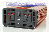 2000w pure sine wave inverter 12v 24v 48v dc to  220v ac  with usb