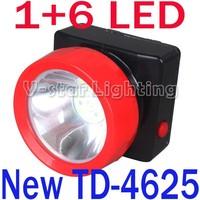 New Style!! TD-4625 Led Miner Head Lamp Portable Cordless 4500Lx 3200mAh Light Waterproof