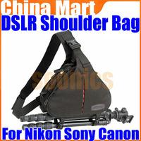 DSLR Camera Case Messenger Shoulder Bag For Nikon Sony Canon Free Shipping+Drop Shipping