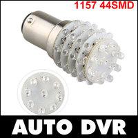 Fast shipping.2Pcs/lot T25 1157 P21/5W Red 45 LED Tail Brake Light Bulb Lamp