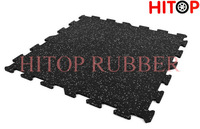 Gym rubber floor tile