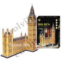 BIG BEN Large Size JIGSAW PUZLLE 3D DIY TOYS
