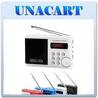 Singbox SV-922 Portable Mini Digital Audio Card Speaker Elderly FM Radio Exercise Sound