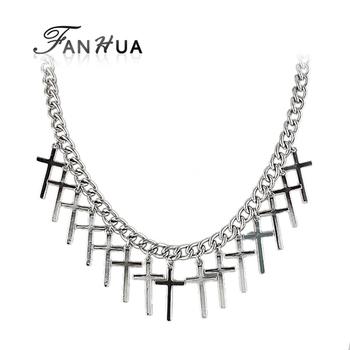 Monogram Gold Color Alloy Chain Pendent Necklace 2014 New Designer Fashion Wholesale Men Jewelry