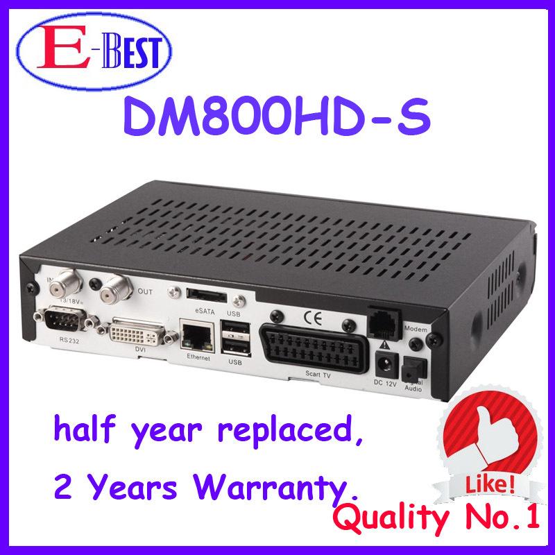 Lower Price!! DM800HD Pro Satellite Receiver DM800 BL84 SIM2.01 Bootloader#84 REV M Tuner DM800s HD PVR fedex free shipping(China (Mainland))
