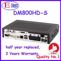 Lower Price!! DM800HD Pro Satellite Receiver DM800 BL84 SIM2.01 Bootloader#84 REV M Tuner DM800s HD PVR fedex free shipping