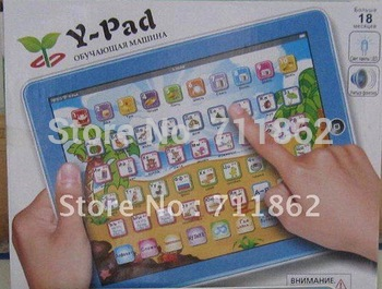 Y - Pad Russian Computer Learning Machine touch table computer, Kid learning machine, Baby educational toys