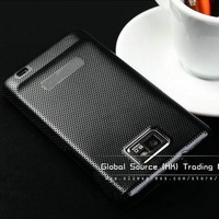 Brushed aluminum case for samsung i9100 luxury matel cover for galaxy s2 Fashion with hard luxury back cover one direction