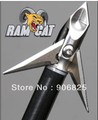 Ramcat Broadhead 100gr 3blade hunting arrow tip Fulton Precision Orignal pack 30pcs/lot=10x3pk wholesale price quality cool(China (Mainland))