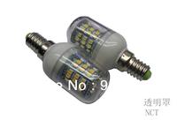 5Pcs/Lot SMD 3528 48 LED 200-240V LED Spot Light E14 Bulb Lamp Cold white / Warm White 360 Degree Free Shipping 1#