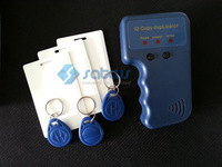 125KHz-135KHz  RFID ID Card Reader & Writer/Copier/Duplicator/Programmer + 3pcs each Writable Card  & Tags Access Control