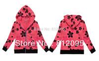 LittleSpring Retail In stock! children clothes 2014 spring autumn hoodie wear girls autumn sweater cardigan outerwear