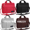 Free shipping 10 11 12 13 14 15 inch male femail man women's laptop bag handbag computer bag with Keyboard protective film Gift